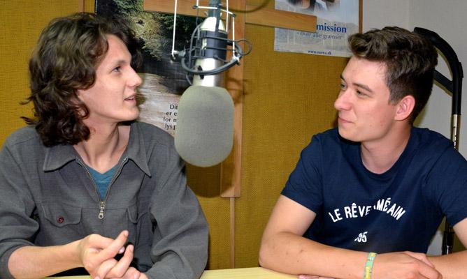 Frederik og Isak